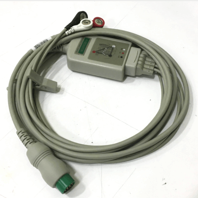 3 Lead ECG Cable & Leads V2 monitors