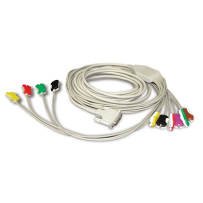 Schiller 10-Lead Stress ECG/EKG Patient Cable