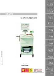 User Manual for Schiller CS-200 v2.5 or below (Electronic Edition)